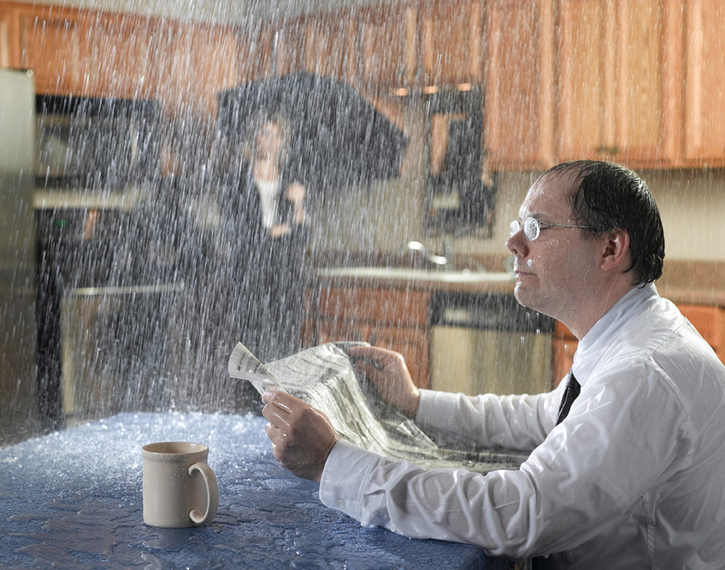 Can Your Air Conditioner Cause Water Damage In Your Home?