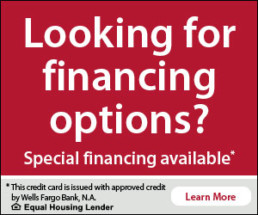 wells fargo new ac unit financing venice florida